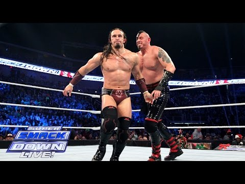 Titus O'Neil & Neville vs. The Ascension: SuperSmackDown, December 22, 2015
