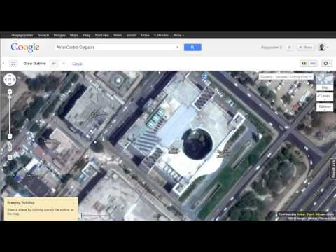 Draw Building Outline with Google Map Maker