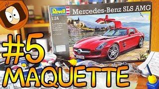 MAQUETTE #5 : MERCEDES - SLS AMG