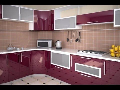 bec5d3e58569b أجمل ديكورات مطابخ عالمية باللون الموف Best Kitchens modern purple 2016 2017