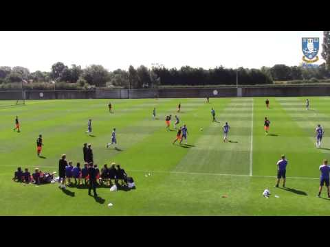 SWFC U23s  James Murphy pre season plays