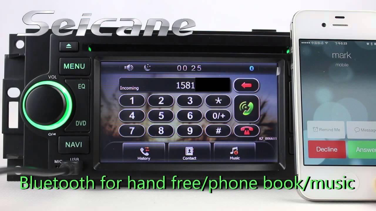 chrysler aspen radio 2007 2008 chrysler aspen navigation dvd player rh youtube com Aspen 2007 Parts 07 Chrysler Aspen