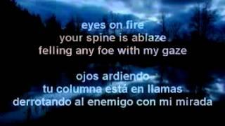 Twilight OST - Eyes On Fire (Letra En Español)