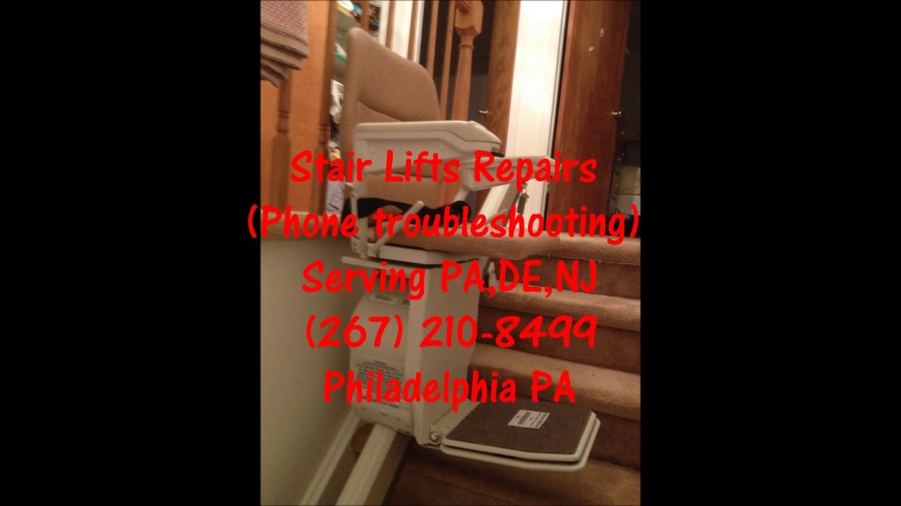 stannah stairlift repairs all models 267 210 8499 pa de nj youtube