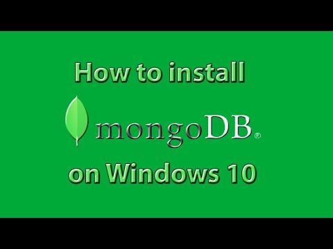 How To Install MongoDB On Windows 10/7/8
