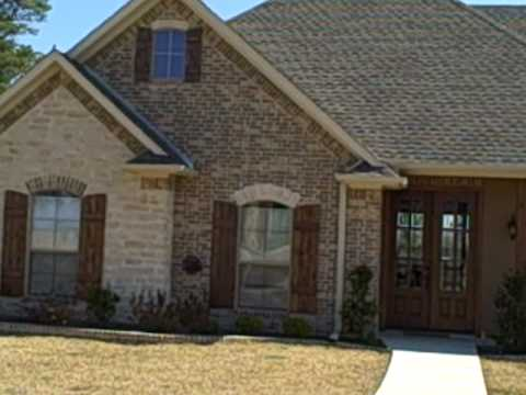 Brick stone and stucco house youtube for Stucco and brick homes