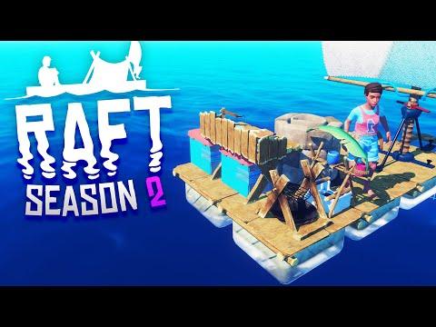 RAFT IS BACK! Raft Survival S2 Episode 1