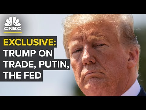 Watch CNBC's Full Interview With President Donald Trump | CNBC