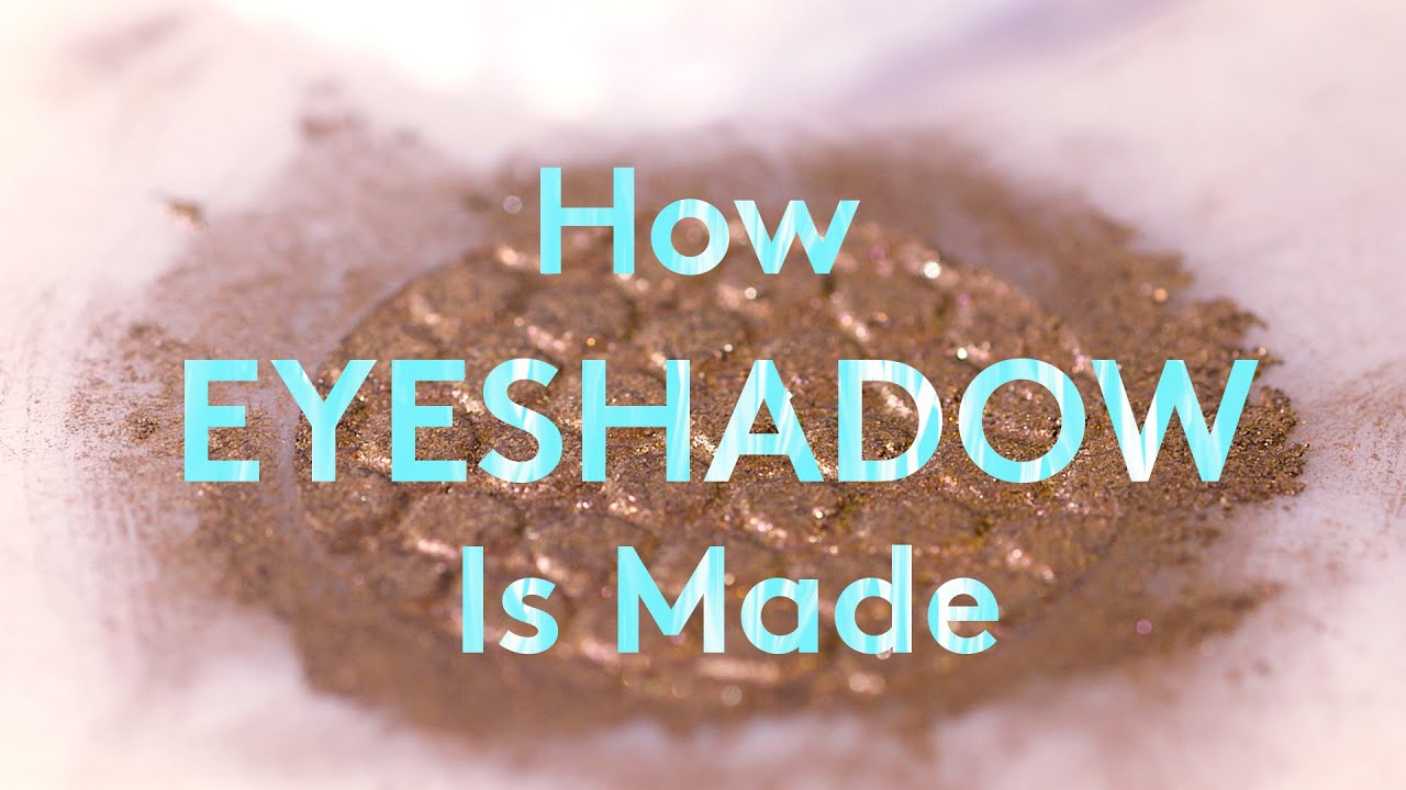 How ColourPop Eyeshadow Is Made | How Stuff Is Made ...