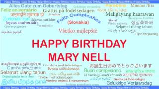 MaryNell   Languages Idiomas - Happy Birthday