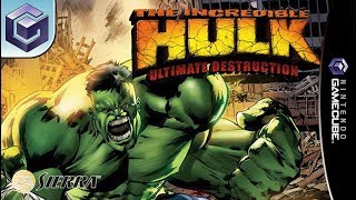 Longplay of The Incredible Hulk: Ultimate Destruction