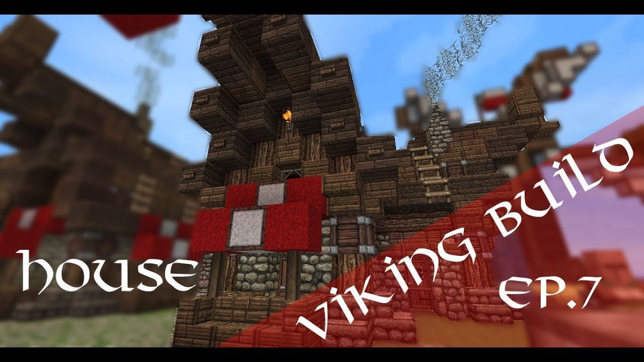 Minecraft Viking House Tutorial YouTube - Minecraft wikinger hauser