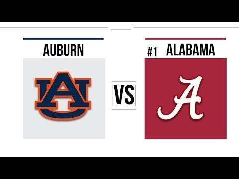 Week 13 2018 Auburn vs #1 Alabama Full Game Highlights