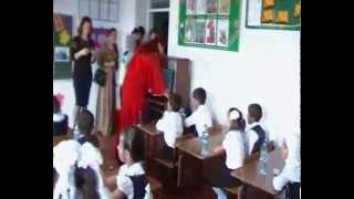 Первый урок 1 б класса Школы №17 г. Дербента