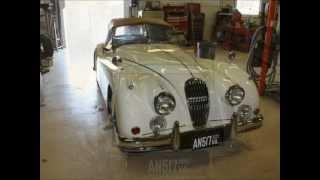 1956 Jaguar xk140 by Paul's Custom Interiors/ Auto Upholstery