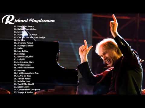Richard Clayderman Greatest Hits | The Best Of Richard Clayderman | Best Instrument Music