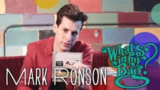 Mark Ronson - What's In My Bag?