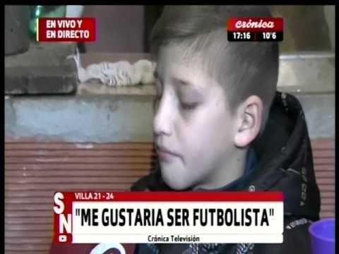 Villa 21-24 La conmovedora historia de Lautaro
