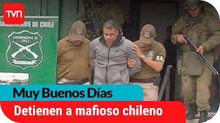 Carabineros detuvo al delincuente chileno