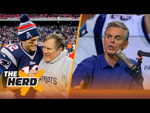 Colin Cowherd on Tom Brady's worth to the Patriots and NFL draft strategy at the QB spot   THE HERD