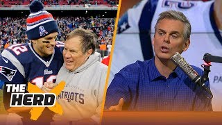 Colin Cowherd on Tom Brady's worth to the Patriots and NFL draft strategy at the QB spot | THE HERD