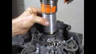 KTM Main Seal Installation KTM 200