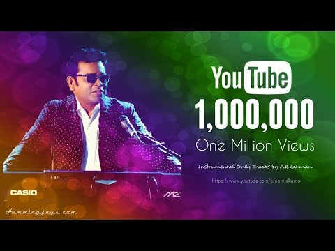 Instruments Only tracks by A.R.Rahman | Best Instrumentals &