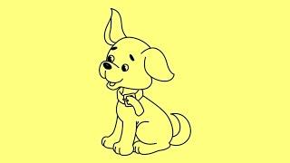 How to draw a dog step by step | Как нарисовать собаку поэтапно карандашом(How to draw a dog step by step | Как нарисовать собаку поэтапно карандашом | Cómo dibujar un perro paso a paso | Wie man einen Hund zeichnen Schritt ..., 2015-02-09T23:28:00.000Z)