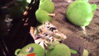 Angry birds toons plush episode 33 night of the living pork