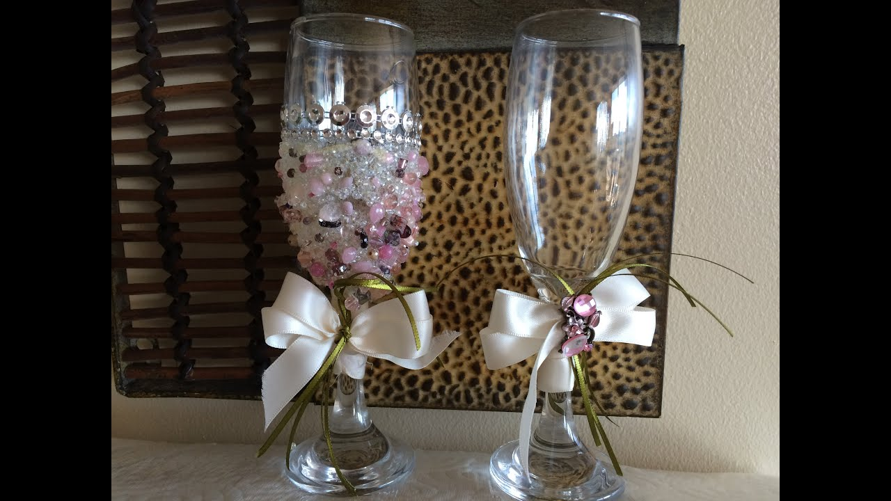 How to decorate champagne 46