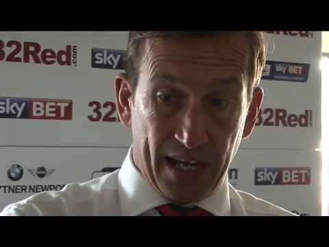 Justin Edinburgh post match 7Sep13 (Mansfield H)