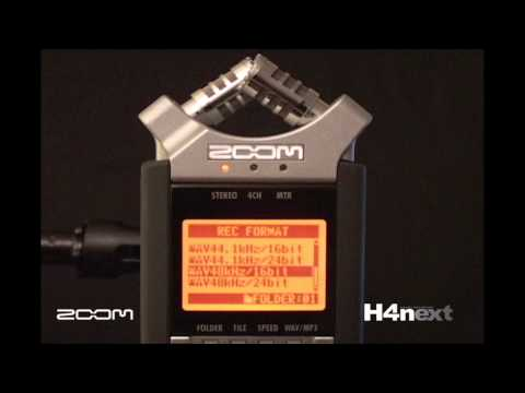Zoom H4n Handheld Portable 4-Track Digital Audio Recorder Overview (1 of 2) | Full Compass