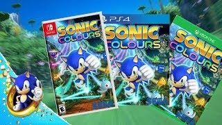 Sonic Colours Remastered - Gameplay Trailer - PlayStation 4, Xbox One, Nintendo Switch (FAN MADE)