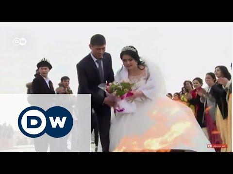 Kırgızistan'ın tartışmalı geleneği: Zorla kız kaçırıp evlenmek - DW Türkçe