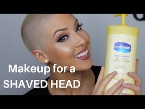 SHAVED HEAD MAKEUP TIPS AND TRICKS//Gabrielle olivia