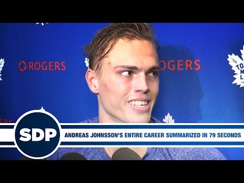 Andreas Johnsson's Entire Career Summarized in 79 Seconds, and 1 Breath | The Steve Dangle Podcast