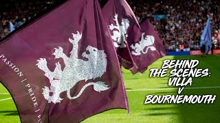Behind the scenes: Aston Villa v Bournemouth
