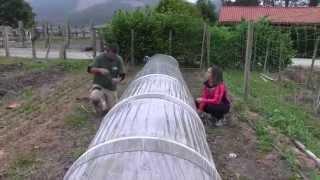 Cómo hacer micro-túneles//Huertos y huertas//LlevamealhuertoTv
