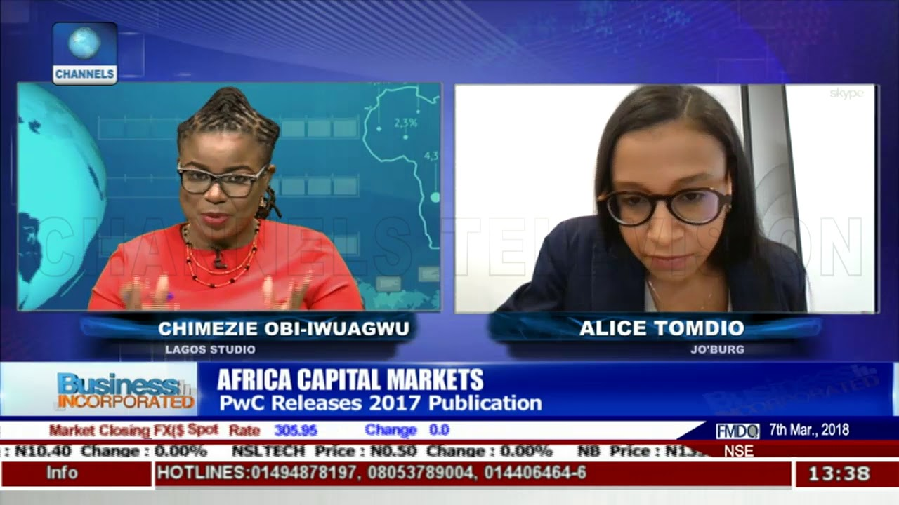 PwC Releases 2017 Publication On Africa Capital Markets |Business Incorporated|