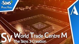 Sims 3 - World Trade Centre Memorial II