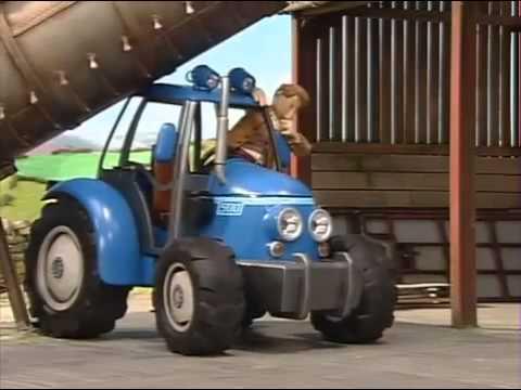 Der kleine rote Traktor  Trickfilme fr Kinder  Kika Ein strmischer Tag  YouTube