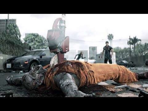Dead Rising 3 Trailer - Annie, Nick Ramos, Steamroller Motorbike