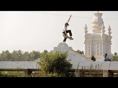 Skating the Wild Streets of India | The Curry Connection EP 1