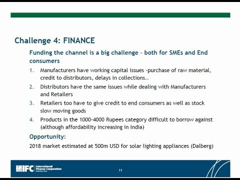 Opportunities and Challenges for Rural Off-Grid Lighting and Distribution Markets in Indi
