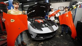 What happened to our Ferrari 812 Superfast..