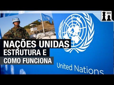Como funciona a estrutura da Organização das Nações Unidas?
