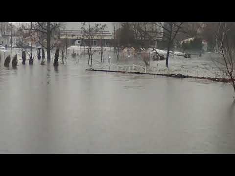 Потоп в Ахтырке 2.04.2018