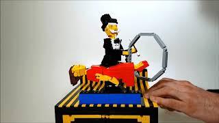 Illusionist, a LEGO automaton