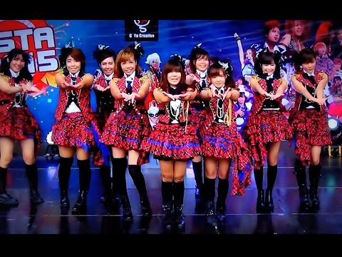 """CandyPops"" cover ""River+Iiwake Maybe"" (AKB48) @ ""Cover Dance Of The Years 2015"" :J-Fest 2015"