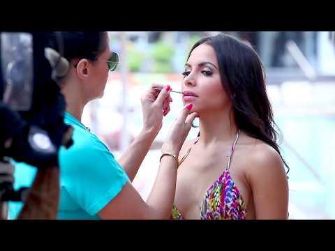Miami Model Citizens, Behind the Scenes 2014 Swimwear Calendar Shoot, Lisa Morales